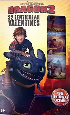 How To Train Your Dragon 32 Lenticular Valentines Day Cards School Boys