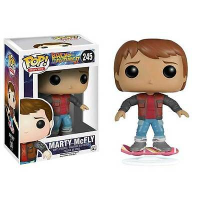 Back To The Future - Marty McFly Hoverboard Pop! Vinyl Figure NEW Funko