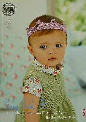 KNITTING PATTERN BOOK Baby Book 7 King Cole KNITTING PATTERN BOOK
