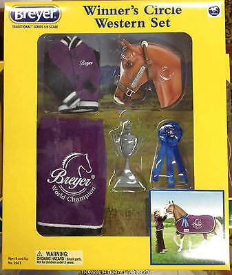 Breyer Collectable Horse Accessories Winners Circle Western Set