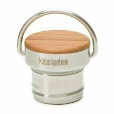 Brand New - Klean Kanteen - Stainless Unibody Bamboo Cap - FREE Delivery!
