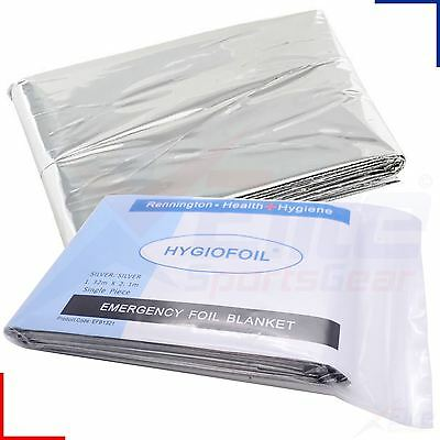 First Aid Survival Space Foil Thermal Camping Emergency Blanket Waterproof