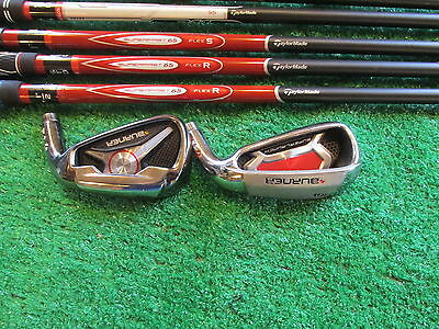 Taylor Made  6i   5 shafts & 2 heads for fitting/ swing training RIGHT HAND