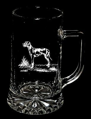 HARLEQUIN GREAT DANE Boxed 40cl STARBASE STERN TANKARD *Dog Gift*