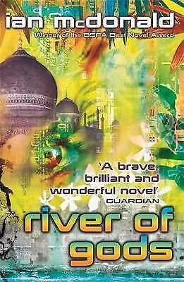 River of Gods by Ian McDonald (Paperback) New Book
