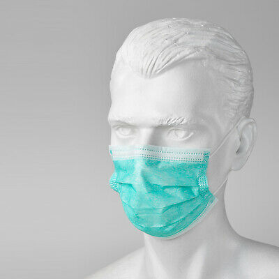 100 x Disposable Surgical Medical Face Mouth Dust Clean Hygienic Mask #251