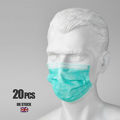 200 x Disposable Surgical Medical Face Mouth Dust Clean Hygienic Mask #251