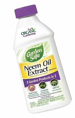 Garden Safe Neem Oil Extract Concentrate (HG-83179) (16 fl oz) Pack of 1
