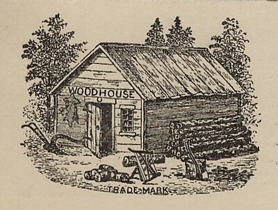 RARE Advertising Postcard - Woodhouse Agricultural Implements New York 1917 NY