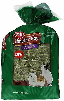Kaytee Wafer Cut Hay Food for Pets, 60-Ounce (100513222) Shorter strands