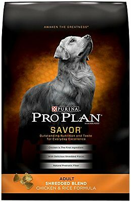 Purina Pro Plan Savor Dry Dog Food(13059) (Size: 35lb) High-Quality Protein DTF