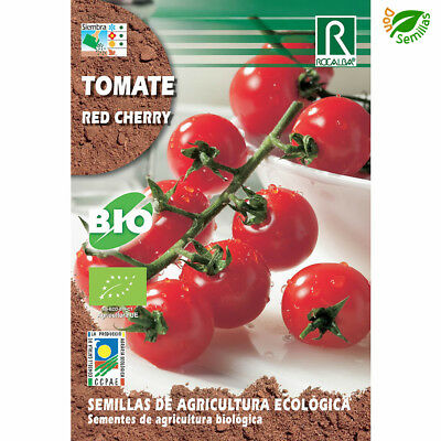 Tomate Red Cherry Ecológico ( 0,5 gr / 150 semillas aprox) Certificada Eco seeds