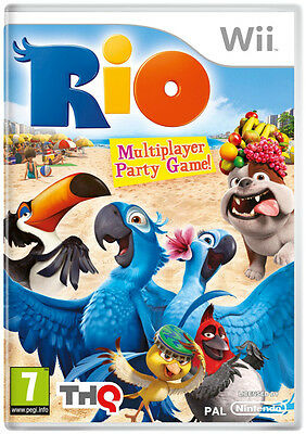 Rio Nintendo Wii Game - Brand New And Sealed