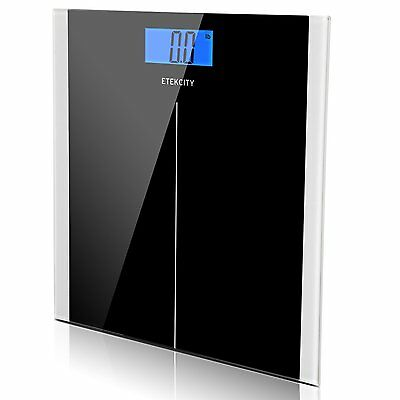 Etekcity Digital Body Weight Scale with Step-On Technology, 400 Pounds,Black NEW