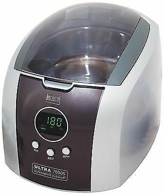 JPL Ultrasonic Jewellery Spectacle CD/DVD Coins Cleaner With Timer (ULTRA7000S)