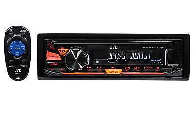 JVC KD-X230 Single-Din In-Dash Digital Media Receiver w/ USB For Android/iPhone