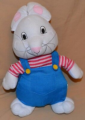 "15"" Max & Ruby Bunny Rabbit Plush Dolls Toys Stuffed Animals TV Show Characters"