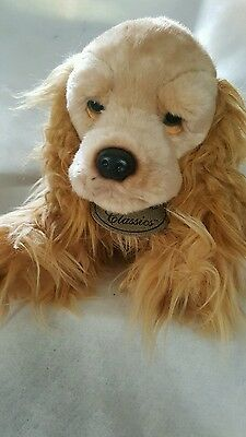 RUSS Berrie YOMIKO CLASSICS Cocker Spaniel Plush Stuffed Animal 12 in Brown Tags