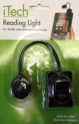 PMS 092/527 iTECH reading light for kindle & reading devices - ideal gift