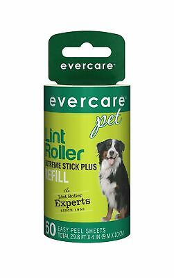 Evercare Pet Hair Extra Sticky 60 Layer Lint Roller Refill Pack of 6