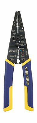 IRWIN VISE-GRIP Multi-Tool Wire Stripper/Crimper/Cutter 2078309 8-inch New