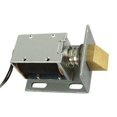 uxcell DC 12V Open Frame Type Solenoid for Electric Door Lock
