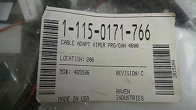 115-0171-766 Raven Cable Adapt Viper Pro/Can 4600