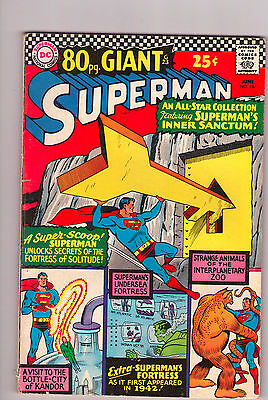 Superman #187 - 80 Page Giant/Special - 1966 (Grade 4.5) WH