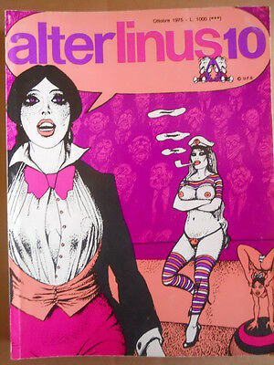 Alter Linus n°10 1975  Jean Claude Forest I naufraghi del tempo  [G418]