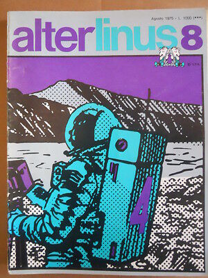 Alter Linus n°8 1975 Jean Claude Forest I naufraghi del tempo [G418]