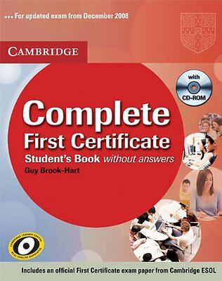 Complete First Certificate: Student's Book with Answers By Guy Brook-Hart