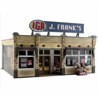 Woodland Scenics BR5851 O Scale J. Frank's Grocery Store Built & Ready
