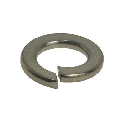 Qty 100 Spring Washer M6 (6mm) Metric Stainless Steel Single Coil SS 304 A2