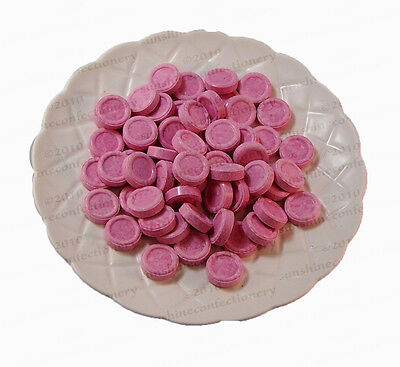 Musk Disc Lollies - 370g - WEDDING, PARTY CONFECTIONERY Post Included