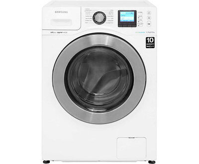 Samsung WD12F9C9U4W Ecobubble Free Standing 12Kg 1400 Spin Washer Dryer White /
