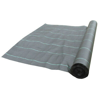 100g 1.5m wide weed control fabric ground cover membrane landscape Driveway