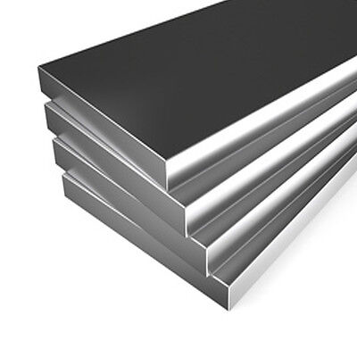 "ALUMINIUM FLAT BAR / STRIP 8 Various lengths of 1/2"" x 1/4"""