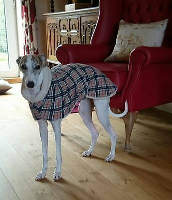 Whippet / Lurcher Lambskin Fleece Snood Fleece House Coat  14'' To 30''