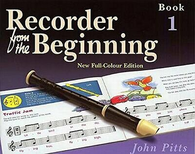 Recorder from the Beginning by Pitts, John Paperback Book The Cheap Fast Free