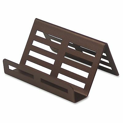 Lorell Stamped Metal Business Card Holder - (1/Each)