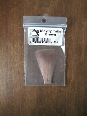 Fly Tying Hareline Mayfly Tails Brown