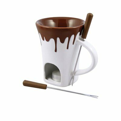 NEW Swissmar Nostalgia 4pcs Chocolate Fondue Mug Set (RRP $33)