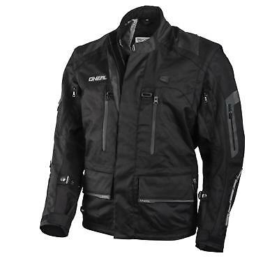 O'Neal Baja Racing Enduro MX Moveo Jacke Schwarz Moto Cross kompatibel