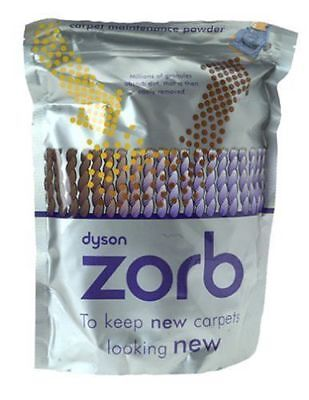 Genuine Dyson Zorb Carpet Cleaning Powder 903914-09 Wool&Stain Resistant Carpets