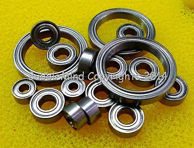 [16 PCS] FOR TAMIYA 58560 RC Ferrari 458 Challenge Metal Ball Bearings TT-02