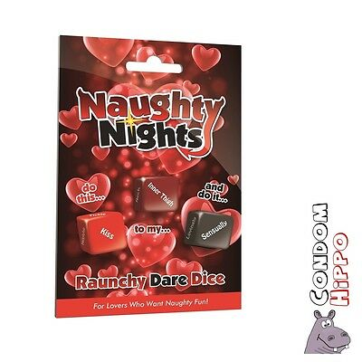 Naughty Nights Dice Drinking Game FAST DISCREET POST Adult Hen Party