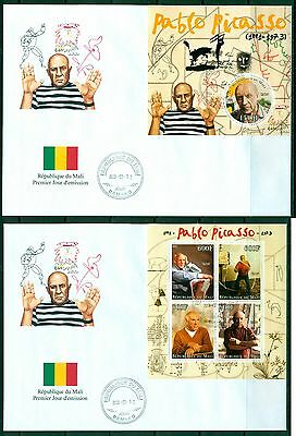 Mali Pablo Picasso Art set of 2 covers