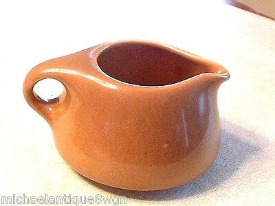 Vintage Russel Wright Iroquois China Creamer In Apricot