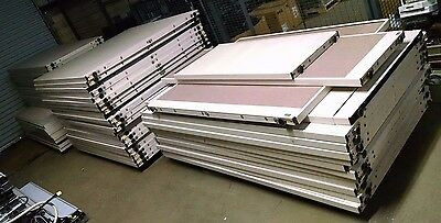 59 Piece Steelcase Modular Office Cubicle Wall Partition System 248+ Linear Feet