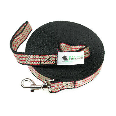 200ft RBB Dog Lead & Horse Training Leash. 60m long 25mm Wide Webbing Clip